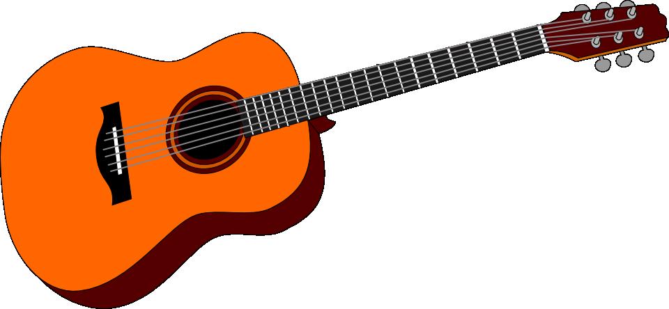 Dibujo de una guitarra española - Imagui